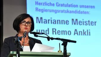 Marianne Meister wurde am Donnerstag von den Delegierten nominiert.
