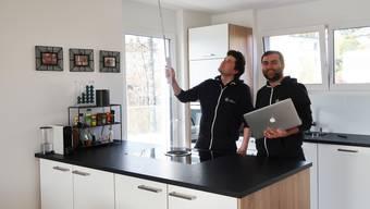 Klick für Klick durch den Umbau: Der Bergdietiker Christian Vogt und sein Kollege Faton Mati gründeten umbaumanager.ch