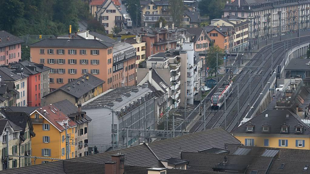 Blick auf das Luzerner BaBeL-Quartier, in dem das Tötungsdelikt verübt worden war. (Archivaufnahme)