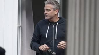 Für Dreharbeiten in Goslar: George Clooney