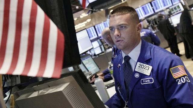 Ein Börsenhändler an der NYSE (Archiv)
