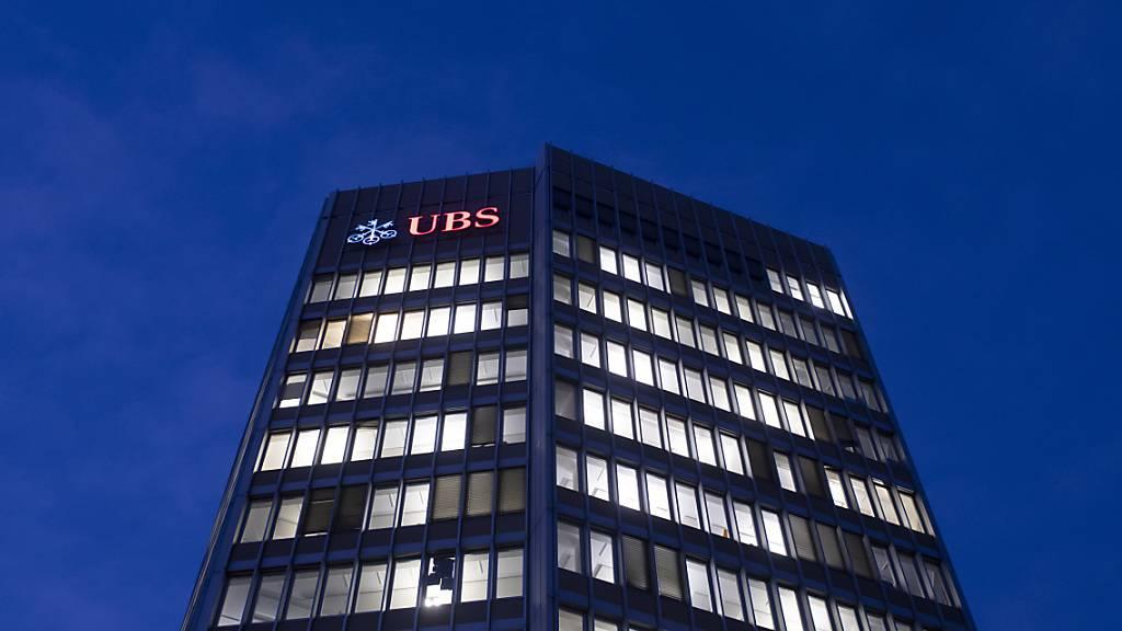 UBS mit tieferem Quartalsgewinn