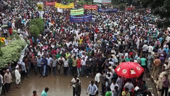 Oppositionelle BNP hat zu Demonstrationen aufgerufen
