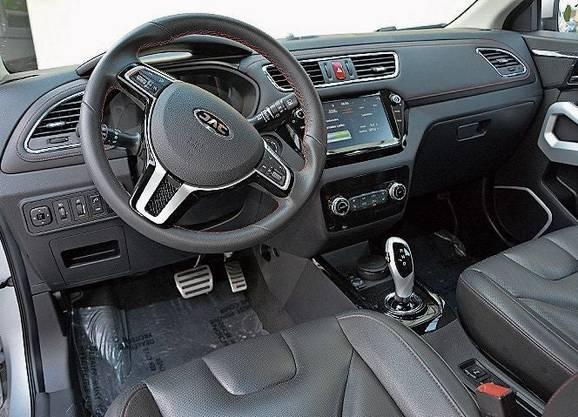 Funktionales Cockpit ohne Schnörkel im chinesischen Elektroauto.
