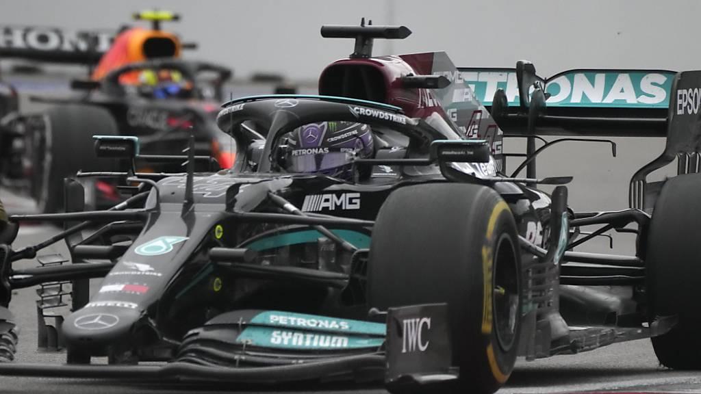 100. GP-Sieg für Lewis Hamilton