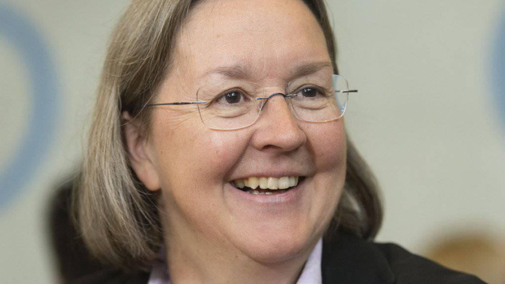 Dem Angriff von Parteikollege Pierre Kohler getrotzt: CVP-Politikerin Anne Seydoux, die den Jura weiterhin zusammen mit Claude Hêche (SP) im Ständerat vertritt. (Archiv)