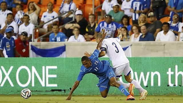 Honduras verlor auch sein zweites WM-Testspiel