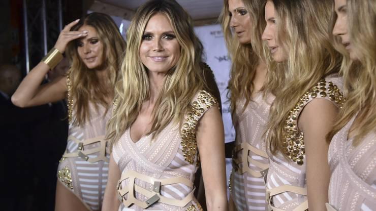 Klums Klone: Topmodel Heidi Klum anlässlich der Halloween-Party in New York.