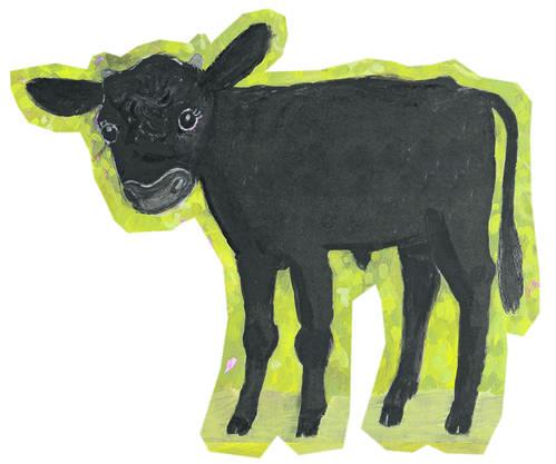 Kleiner Stier Alois (Illustration von Vera Eggermann)