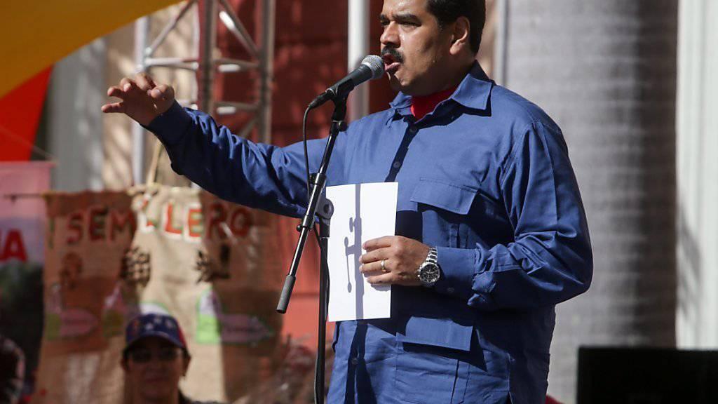 Kehrtwende in Venezuela: Staatschef Maduro will mit den USA in Dialog treten. (Archivbild)