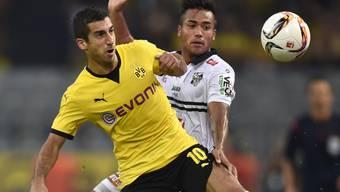 Bei Dortmunds Kantersieg die entscheidende Figur: Henrich Mchitarjan