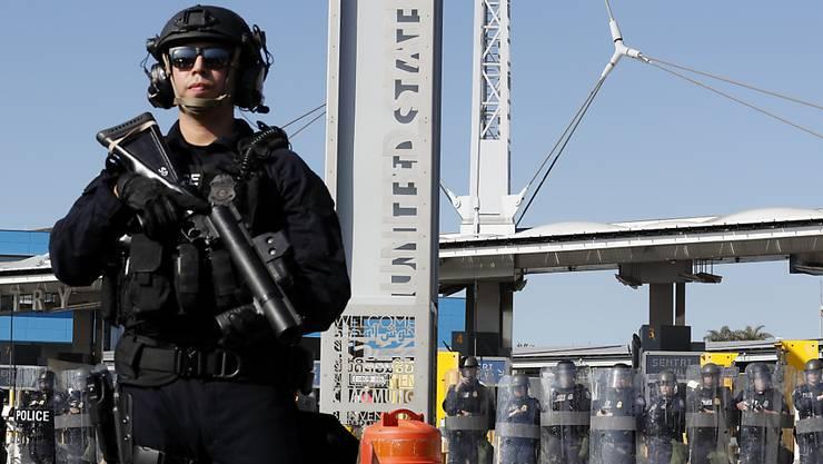 Die USA wollen weiterhin ihr Militär an der Grenze zu Mexiko einsetzen. (Archivbild)