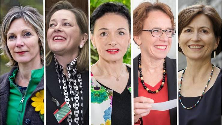 Wie sieht der Frauenanteil im Ständerat nach den Wahlen 2019 aus? Diese Frauen bewerben sich.