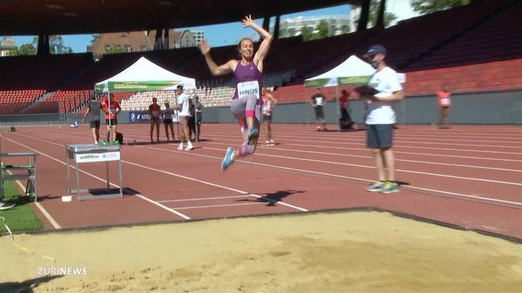 Sportgrössen treffen sich zum corona-konformen Leichtathletik-Meeting