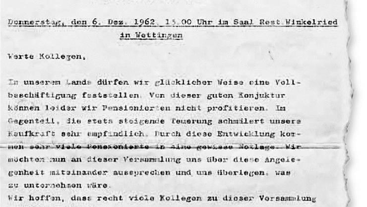 Der Einladung von 1962 folgten damals 35 Arbeiter.