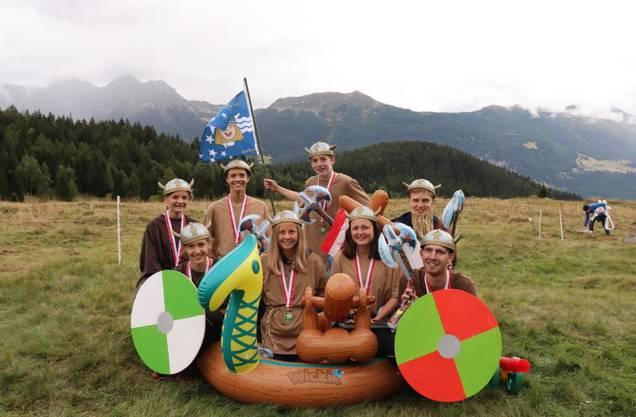 Das siegreiche Jugendcup-Team.