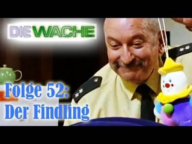 Hans Heinz Moser als Hans Maybach in der TV-Serie «Die Wache» (1996)
