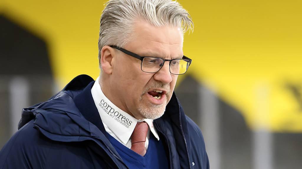 Per Hanberg war während zwei Saisons Trainer des EHC Kloten und verpasste in dieser Zeit den von der Klubführung des fünffachen Meisters angestrebten Wiederaufstieg in die National League