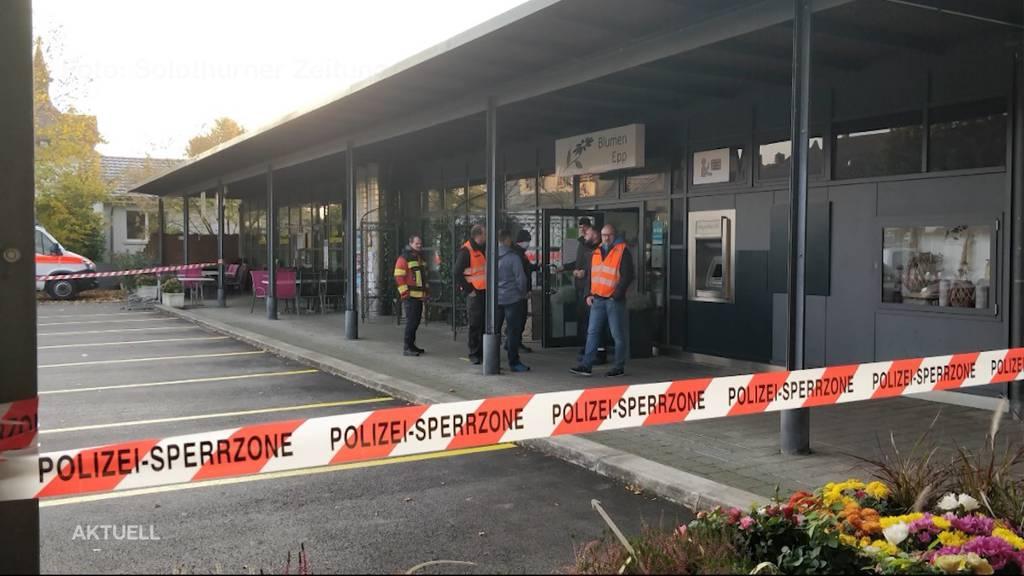 Bankomat-Sprengung in Bellach: Täter wurden fast erwischt