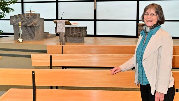 Pfarrerin Katharina Fuhrer verabschiedet sich nach sechseinhalb Jahren von der Pauluskirche und der Gemeinde. Bruno Kissling