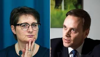SVP-Fraktionschef Jean-Pierre Gallatti kann die Kritik an Franziska Roth nachvollziehen.