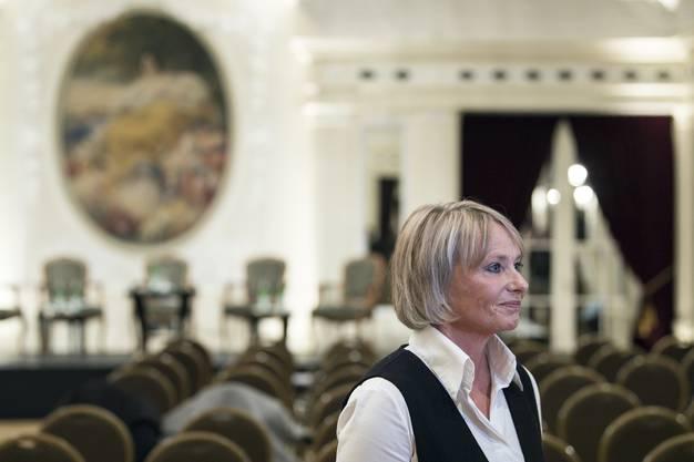Die Baselbieter Bundesratskandidatin Elisabeth Schneider-Schneiter.
