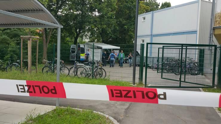 Hier geschah das Tötungsdelikt: Asylunterkunft GOPS beim Kantonsspital Aarau. (Bilder vom August 2016)