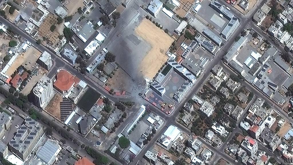 Luftwaffe greift Haus von Hamas-Chef Al-Sinwar an