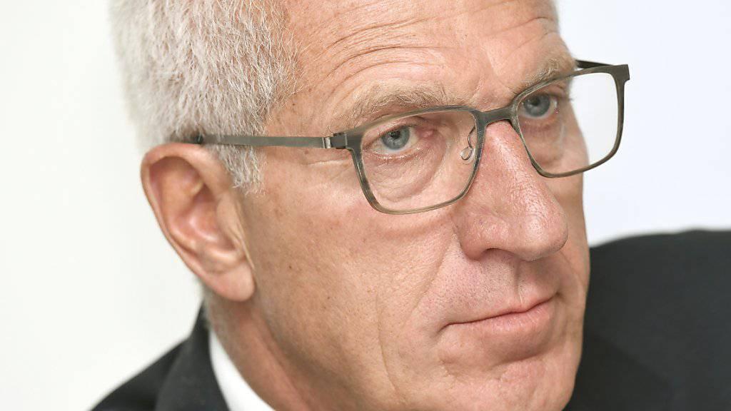 Die Kreditkartenfirma Aduno lässt die Geschäfte des ehemaligen Raiffeisen-Chefs und Aduno-Verwaltungsrates Pierin Vincenz von einer Zürcher Anwaltskanzlei untersuchen. (Archiv)