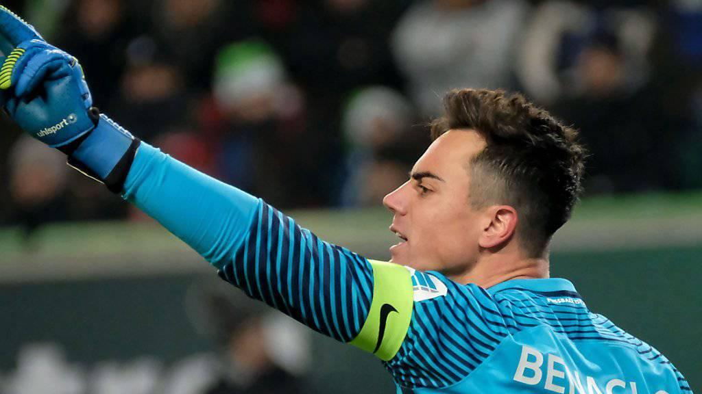 Goalie Diego Benaglio erhält bei Wolfsburg einen neuen Teamkollegen
