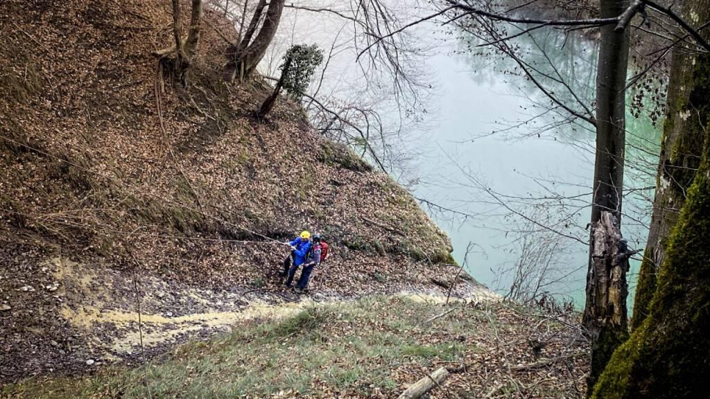 Freiburger Polizei rettet Wanderer aus misslicher Lage