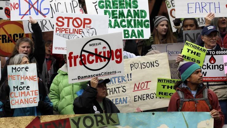 In den USA wird Fracking praktiziert, ist aber sehr umstritten
