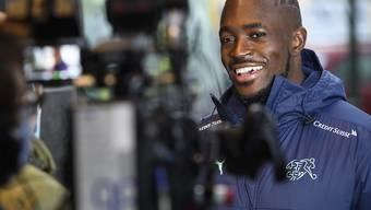 Im Testspiel gegen Belgien steht Yvon Mvogo im Tor