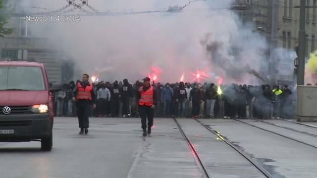 Staatanwaltschaft geht gegen Hooligans vor