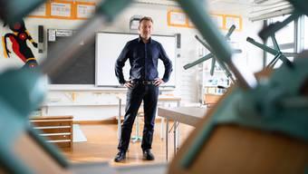 Mathias Stricker übernimmt das Präsidentenamt im Solothurner Lehrerverband im August 2019.