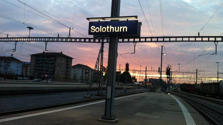 Frühaufsteher und Pendler können ab 11. Juli im neuen Kiosk beim Bahnhof Solothurn einkaufen. (Bild aufgenommen von Patric Steiner)