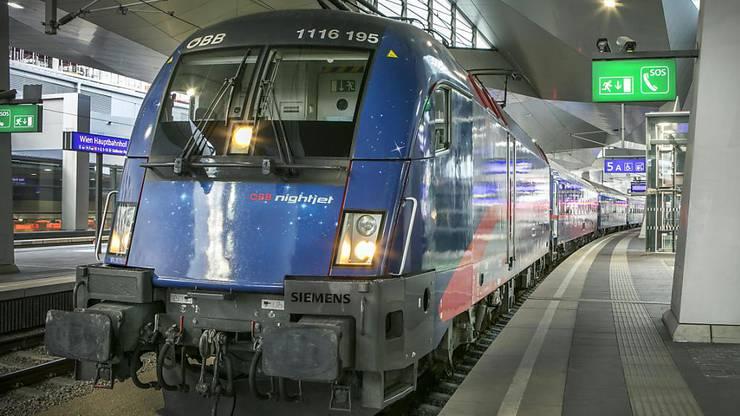 Zum Angebot der ÖBB gehören auch Nachtzüge.