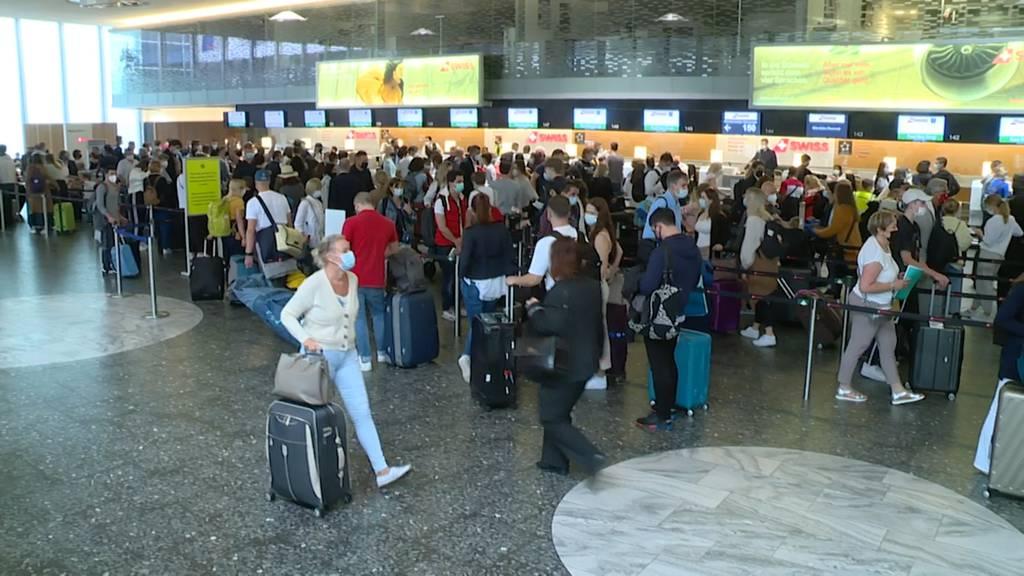 Deutlich mehr Passagiere: Flughafen Zürich profitiert vom Sommerferienbeginn