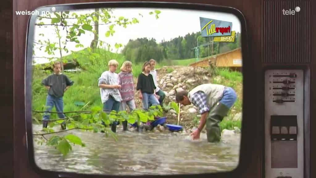«Weisch no?» Goldwaschen mit Toni Obertüfer – 1997