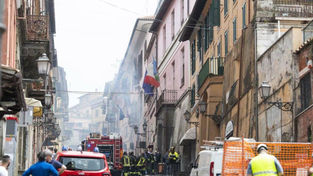 In Rocca di Papa nahe Rom sind am Montag bei einer Gasexplosion mehrere Menschen verletzt worden.