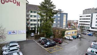 Die Stadt möchte das ganze Gebiet, inklusive Garage und Odeon-Gebäude, in die Planung einbeziehen.
