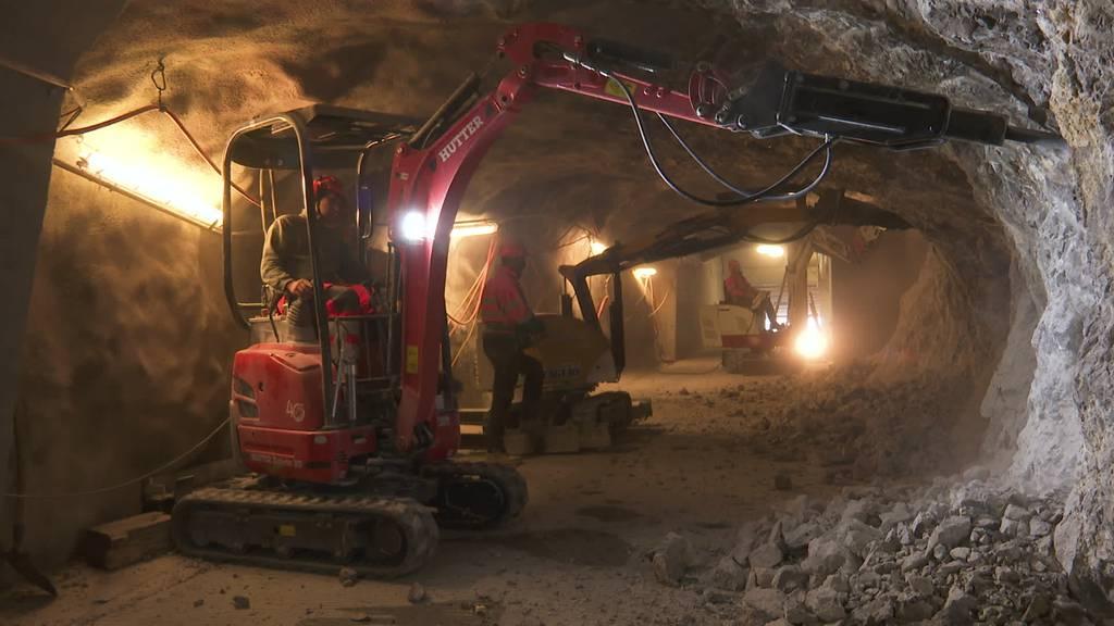 Hoher Kasten: Tunnel für Menschen mit Handicap