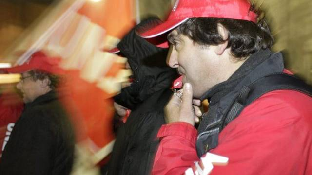 Kundgebung für mehr Lohn in Genf