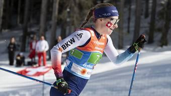 Die Luzernerin Nadine Fähndrich war an der Nordischen Ski-WM der Lichtblick des Schweizer Langlaufteams der Frauen.