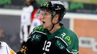 Cédric Schneuwly lieferte mit seinen Linienpartnern Diego Schwarzenbach und Ueli Huber ein paar gelungene Aktionen.