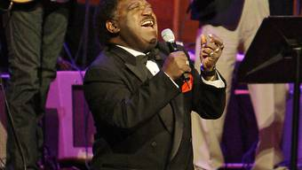 "Percy Sledge singt 2008 ""When a Man Loves a Woman"" (Archiv)"