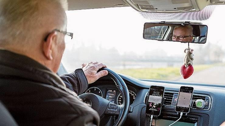 Auch in einigen Regionen des Kantons Aargau ist der Fahrdienst Uber seit mehreren Jahren präsent.