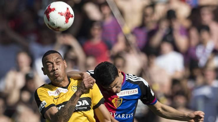 Kein Kopf an Kopf Rennen: Der FCB hat zwar ein Spiel weniger, aber dennoch elf Punkte Rückstand auf die Berner