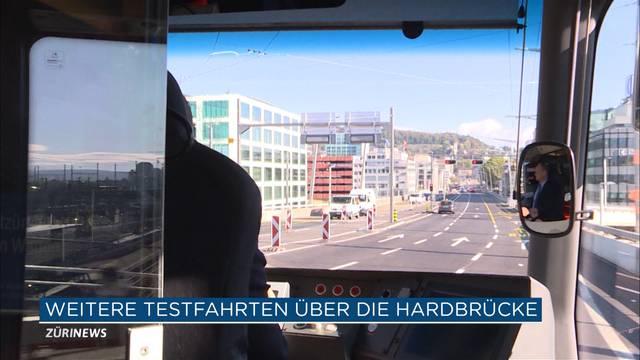 Weitere Tram-Testfahrt geglückt
