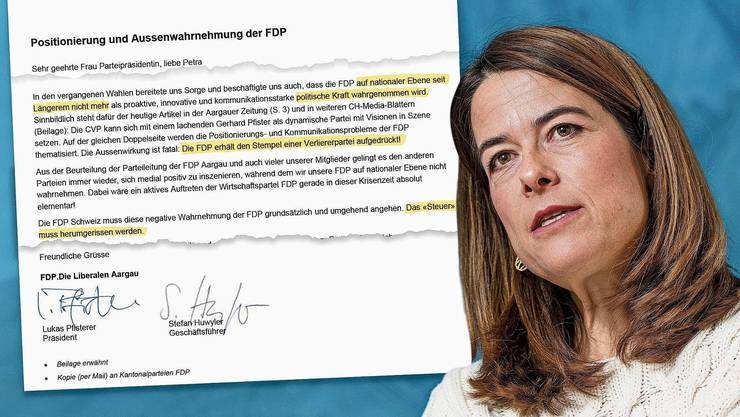 FDP-Präsidentin Petra Gössi wird scharf kritisiert.